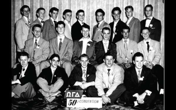 Alpha Chi Chapter - Diamond Jubilee Convention 1952