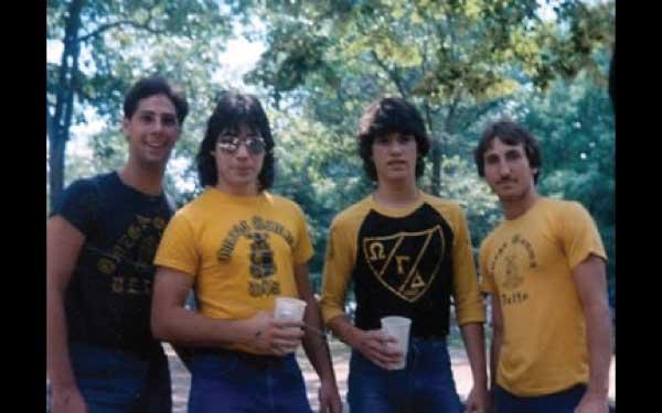 Alpha Psi Brothers Circa 1990 at Grand Chapter Picnic