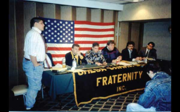 GC Meeting at Sunrise Motor Lodge 1992