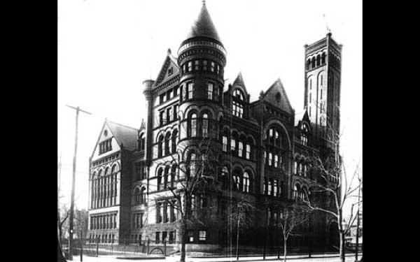 Founding HS - Boy's High School, Brooklyn, NY as it appeared in 1902