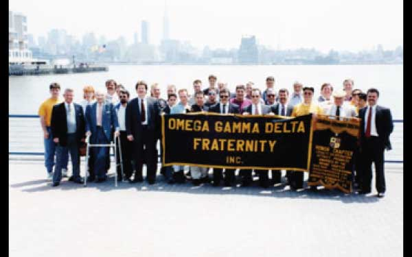 Congregating At Hoboken Pier for Cruise Convention May 9,1992.