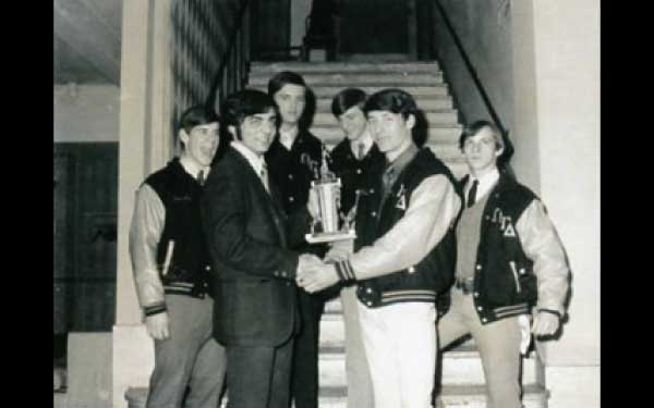 Beta Chapter receives Banner Plan Trophy - Hotel Edison 1970