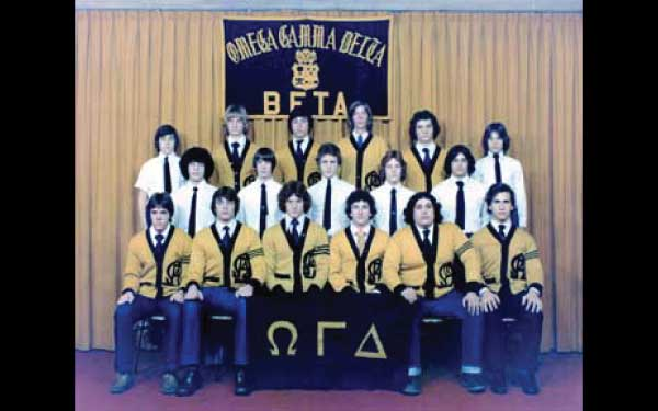 Beta Chapter mid 1970's