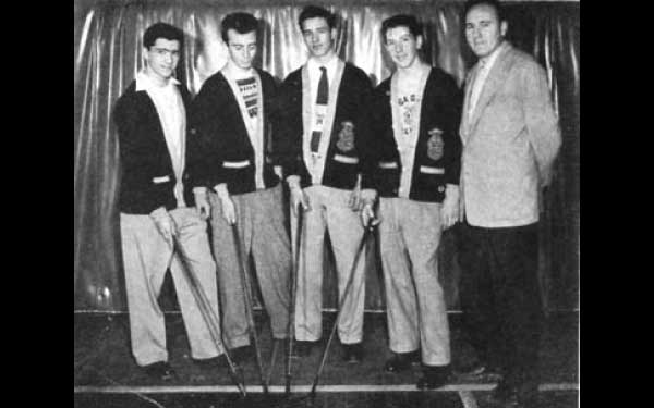 Beta Gamma Brothers 1950's (Coach is also a Brother)